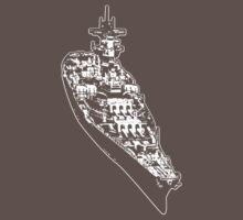 USS Iowa (BB-61) Baby Tee