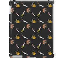 The Claw, The Box, The Knife, The Blade, and the Saw iPad Case/Skin