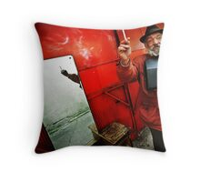 My Cigarette Throw Pillow