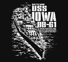 USS Iowa (BB-61) Unisex T-Shirt