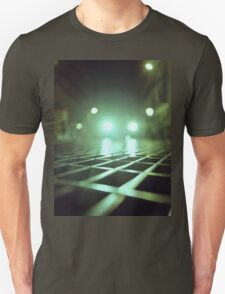 Grid city streets Hasselblad square medium format analogue film photograph T-Shirt