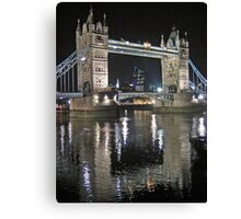 Tower Bridge reflections Canvas Print
