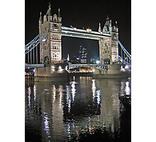 Tower Bridge reflections Photographic Print