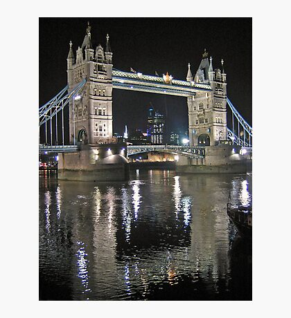 Tower Bridge reflections Photographic Print