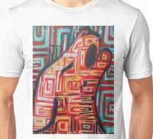 Abstract Coyote Unisex T-Shirt