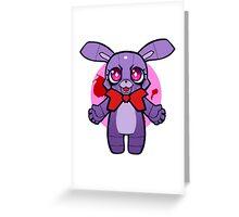 Chibi Bonnie Greeting Card