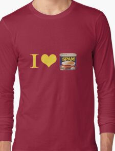 I Heart Spam Long Sleeve T-Shirt
