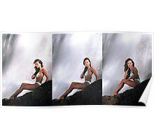 Rebecca - Triptych Poster