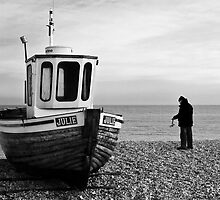Fisherman and Julie by Paul Tremble