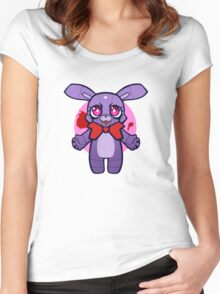 Chibi Bonnie Women's Fitted Scoop T-Shirt