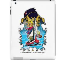 The Wind Is Blowing - Windwaker Fanart iPad Case/Skin