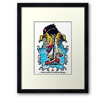 The Wind Is Blowing - Windwaker Fanart Framed Print
