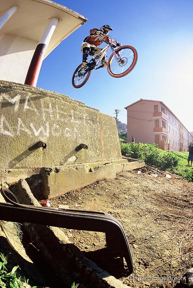 Urban Assault DH Mountain bike #34 by Gerhard Engelbrecht