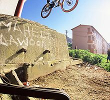 Urban Assault DH Mountain bike #34 by Gerhard Engelbrecht