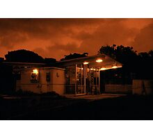 Red Dawn Market Photographic Print