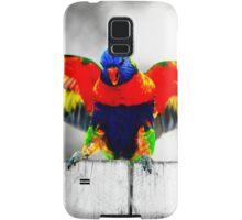 Gold Coast Rainbow Lorikeet Samsung Galaxy Case/Skin