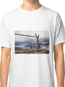 Dogsleds Waiting for Winter Classic T-Shirt