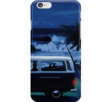 Furgoneta surf noche iPhone Case/Skin