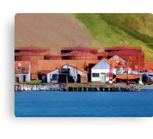 Stromness Whaling Station 2 Canvas Print