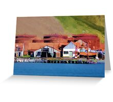 Stromness Whaling Station 2 Greeting Card