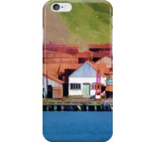 Stromness Whaling Station 2 iPhone Case/Skin