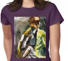 Gentle Light Womens Fitted T-Shirt