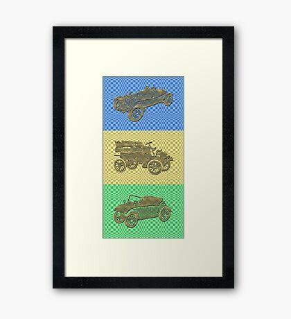 Oldtimer - Trilogy Framed Print