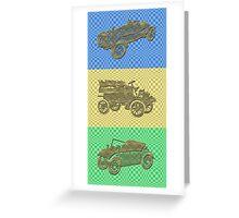 Oldtimer - Trilogy Greeting Card