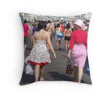 Women of Fashion Throw Pillow