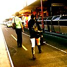 Jay walking - SUnday MORN by kylie Mc