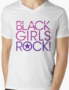 Black Girls Rock Mens V-Neck T-Shirt