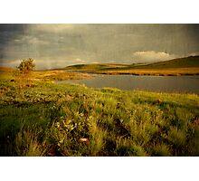 Drakensberg dam Photographic Print