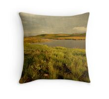 Drakensberg dam Throw Pillow
