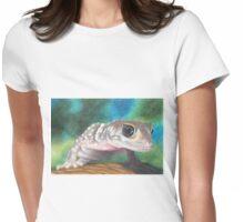 Barking Gecko Womens Fitted T-Shirt