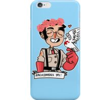Archimedes Yes! iPhone Case/Skin