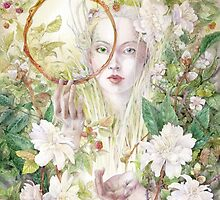 Daphnis - Honeybee Goddess by Stephanie Law