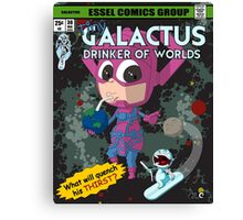 Drinker of Worlds - The Comic Canvas Print