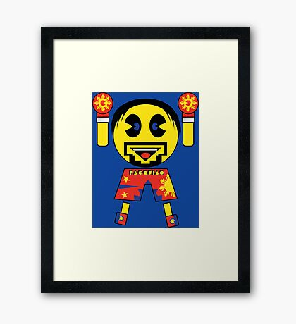 THE PACQUIAO MAN Framed Print