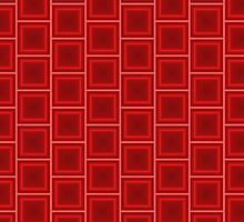 Geometric Red by juststickit