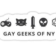 GGNY Icons - Dark Sticker