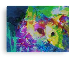 Cat communing with nature Canvas Print