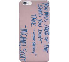 michael scott iPhone Case/Skin