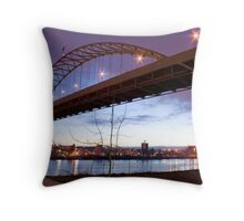 Sunrise on the Willamette Throw Pillow