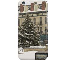 Downtown Sandusky Ohio - Winter iPhone Case/Skin
