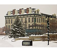 Downtown Sandusky Ohio - Winter Photographic Print
