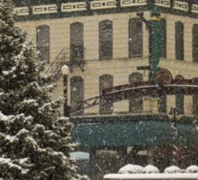 Downtown Sandusky Ohio - Winter Sticker