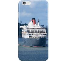 The Queen Mary 2 and the R. Tucker Thompson.........! iPhone Case/Skin