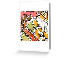 Catherine Mosaic - City Scape Greeting Card