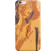 sisters with a parrot(2) iPhone Case/Skin