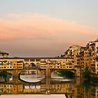 Ponte Vecchio by Mick Burkey